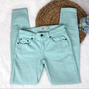 Vineyard Vines Aqua Mint Skinny Jeans Size 00